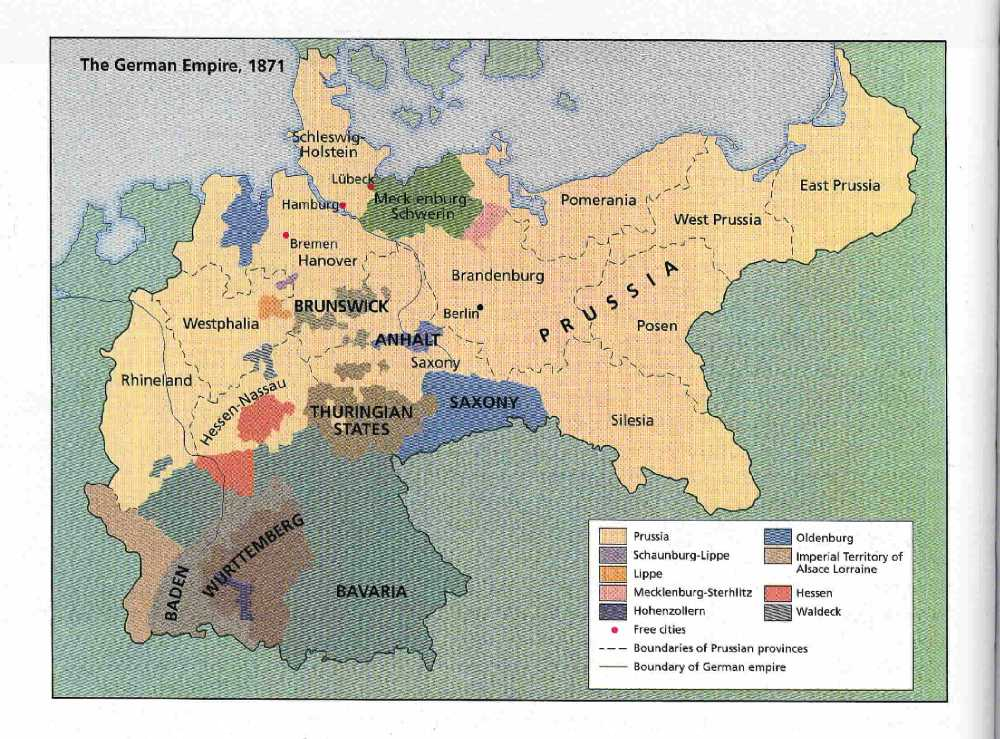 political issues rising after the unification of germany After the unification, he served for nineteen years, as the first chancellor of germany kaiser william i had installed bismarck as prime minister before germany was unified and stayed in the background, while bismarck ran the governmentduring his chancellorship, the two main concerns for.